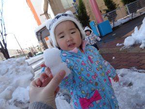 雪だるまいたよ!!⛄